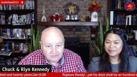 God Is Real! Join us Monday-Friday 5:30 am Eastern Time! Chuck & Rlyn Kennedy