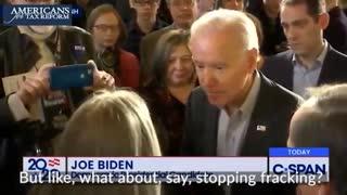 Joe Biden Will Ban Fracking