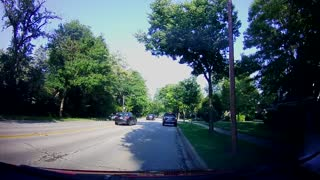 Truck Drives Wrong Way Through Traffic