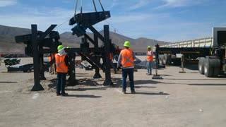Crane Work - Plant Field Assembly South America