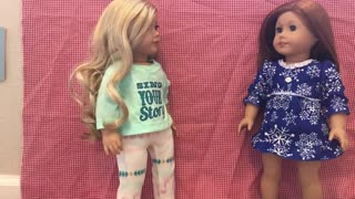 Christmas Eve Dreams (American Girl Stopmotion)