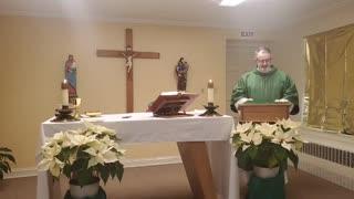Mass on February 10, 2021