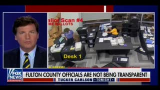 FANTASTIC! Tucker Carlson Covers Likely Election Fraud in Fulton County Georgia 8 Months After Election