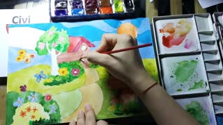 How to draw picture - Pencil drawing a cool amazing picture for everyone [easy]