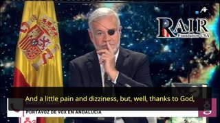Terror Attack in Spain: 'Refugees' Ambush and Beat VOX's Rubén Pulido outside his Home