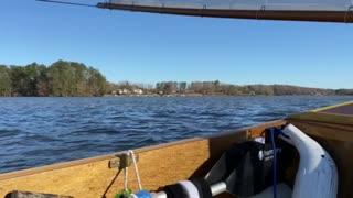 Sailing my Piccup Pram