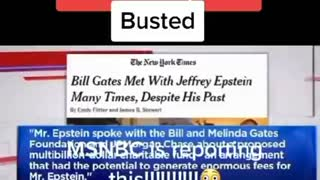 Bill gates busted