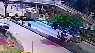 Video: Turbo sin frenos ocasionó un grave accidente en Piedecuesta