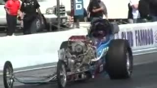 March Meet 2009 Dragster Wheelstand of Event