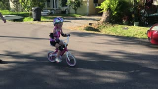 Riding with no training wheels