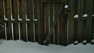 Lingering snow today VA