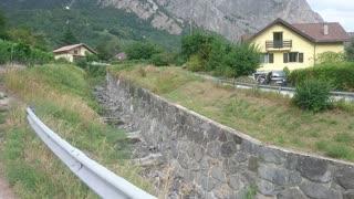 Massive Mudslide in Switzerland