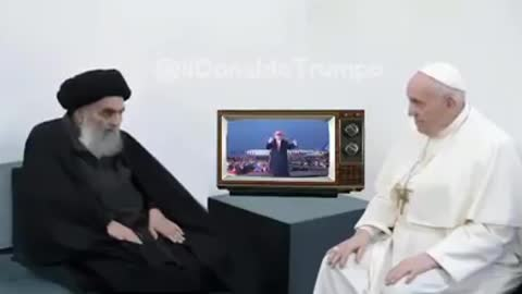 YOUNG MAN... By TRUMP Ft Pope Francis