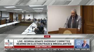 Election Board Members Speak at Senate Oversight Committee Hearing on Election 2020. 12/03/20