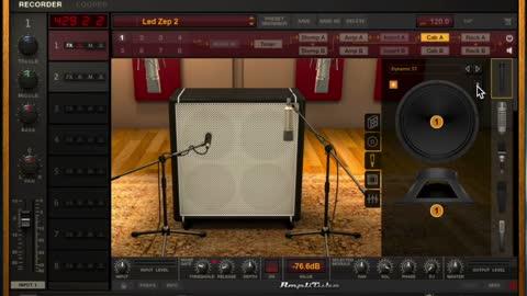 Jimmy Page Tone on early Led Zep using Amplitube 4