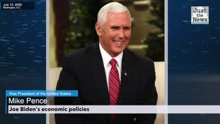 Mike Pence discusses Joe Biden's policies