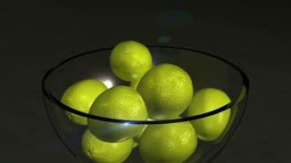 Lemon plate