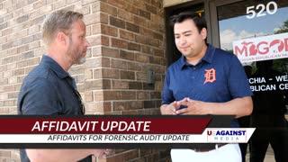 Michigan Affidavit Update On Forensic Audit