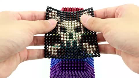 YP STUDIO- How To Make Rainbow Train with Magnetic Balls
