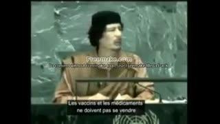 Gadhafi - they will create the virus