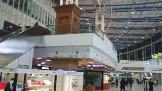 Inside Seoul Station, Korea