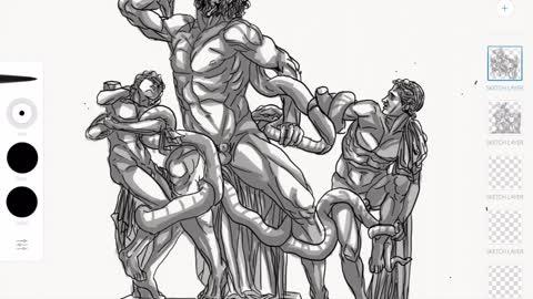 Laocoon Illustration