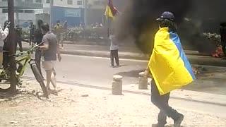 Siguen las protestas en el Día del trabajador
