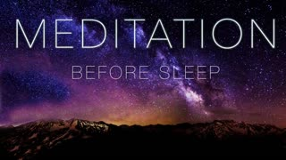 Meditation before bed