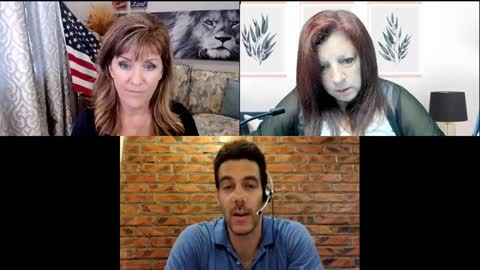 Mitchell Gerber with Melissa Redpill and Denise on China Organ Harvesting