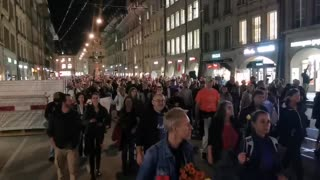 Switzerland PROTEST against COVID restrictions