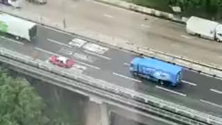 Crazy and stupid HK driver