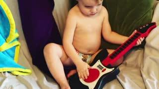 Eloah's first guitar