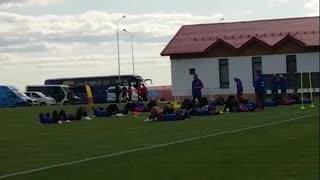 Video del entrenamiento de Colombia en Rusia