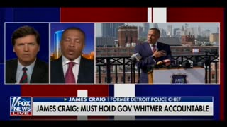 Chief James Craig Blames Gretchen Whitmer after Liberal Goons Shut Down His Rally