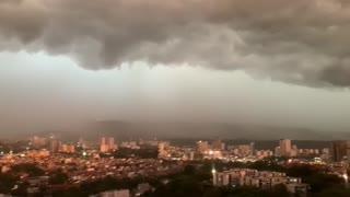 tormenta eléctrica en Bucaramanga