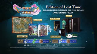 Dragon Quest XI - Dragon Quest VIII Costume Reveal Trailer
