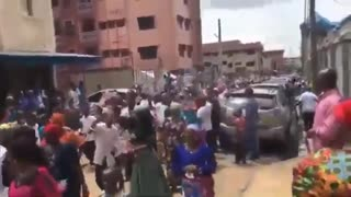 Massive President Trump Parade and Rally in Nigeria
