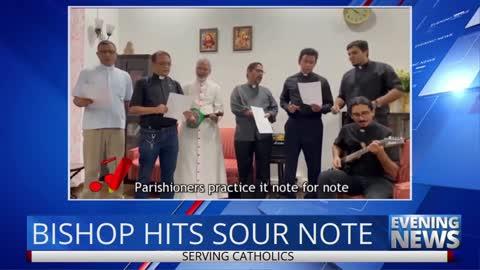 Bishop of Bombay Sings the Gospel According to Pfizer!