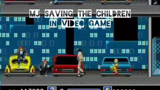 Michael Jackson tried to tell us about SAVING THE CHILDREN in Video Game