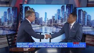Real America - Dan W/ Larry Elder (August 9, 2021)