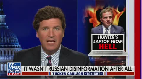 Carlson Wonders Why Feds Have Sat On Hunter Laptop