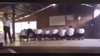 Wow talentef school students performing do_ra_me_fa_so_ra😂
