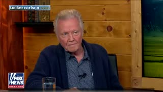 Tucker hosts explosive interview with actor Jon Voight on faith