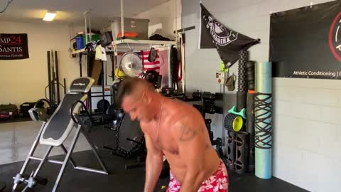 Heavy Club Lateral Pendulum to Clean