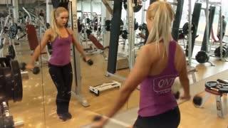 Fitness female Motivation