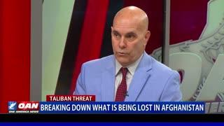 Breaking down what is being lost in Afghanistan