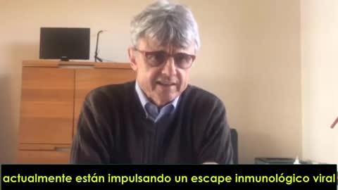 Dr. Geert Vanden Bossche. Virólogo. Experto en vacunas. Ex de GAVI: