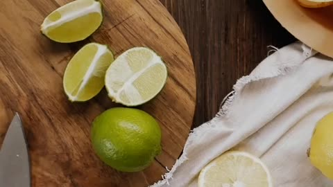 Lemon is fast acting fat soluble