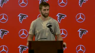 Josh Rosen speaks on his first preseason game with the Falcons