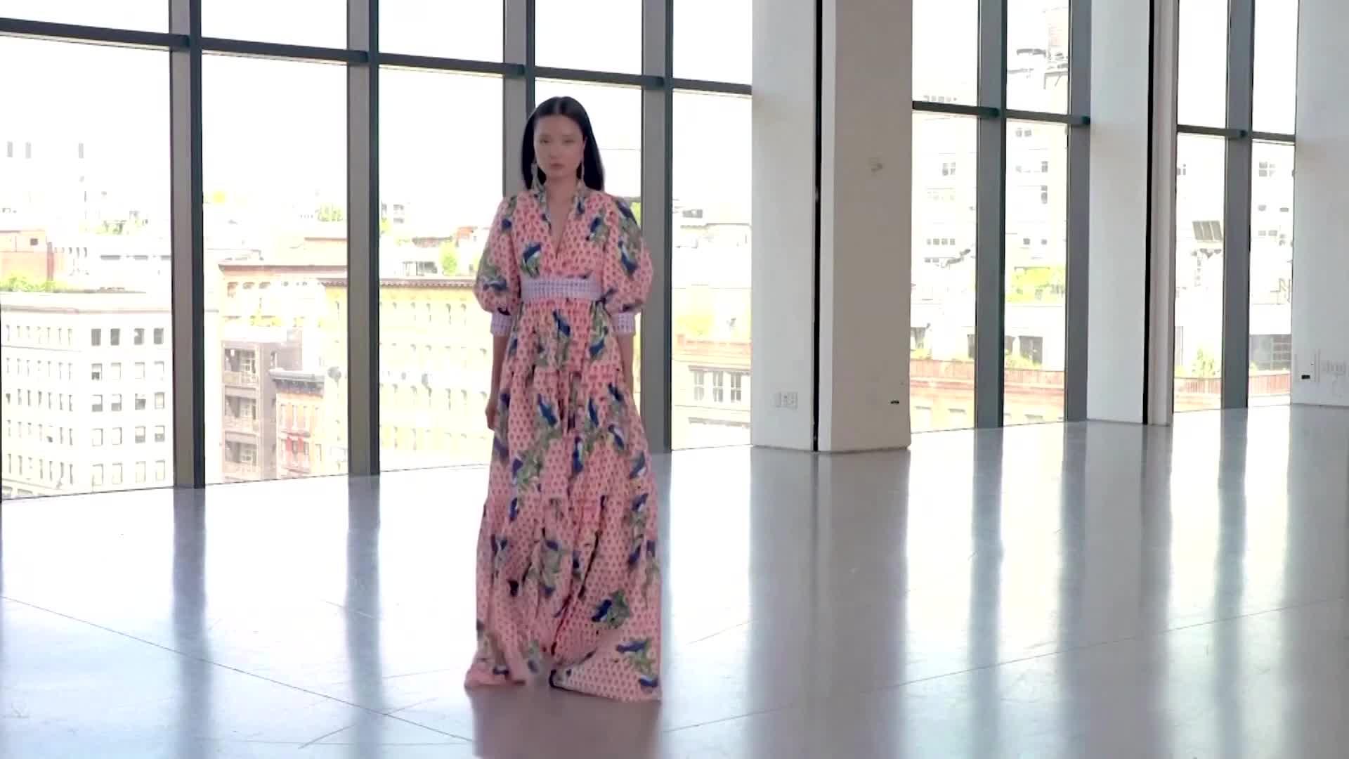 Adans Libas Luxulia Chiffon 21 Floral White - Pak Fashion UK
